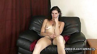 Crazy pornstar in Fabulous Interview, Solo Girl sex clip