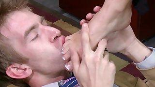 Blonde milf enjoys huge dick in her pink cherry