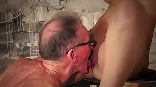 Anina Silk gets hard fucked by a senior guy