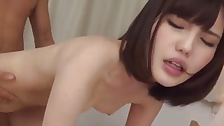 Skinny Asian creampie