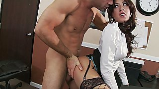 She dares him to fuck her