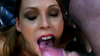 European slut spunked