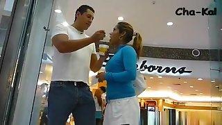 Eating Ice Cream Upskirt