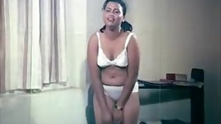 Neetha Kumari From The Movie Akkai Nangiyi Striping And Showing Boobs