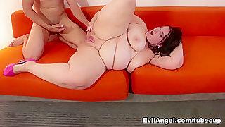 Fabulous pornstar Becki Butterfly in Exotic BBW, Brunette adult video