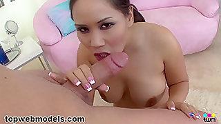 Hottest pornstar Jessica Bangkok in Crazy POV, Deep Throat sex scene
