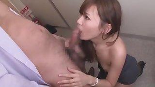 Amazing Japanese chick Nana Konishi in Incredible Changing Room, Secretary JAV video