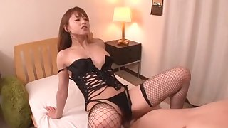 Incredible Japanese girl Akiho Yoshizawa in Horny Stockings/Pansuto, Lingerie JAV video