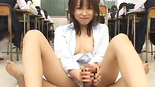 Horny Japanese girl in Amazing Small Tits JAV video