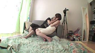 Incredible Japanese chick Minami Oshiro in Exotic small tits JAV movie