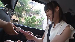 Fabulous Japanese slut Midori Tadokoro in Hottest college, outdoor JAV video