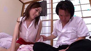 Crazy Japanese slut JULIA in Best skinny JAV scene