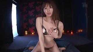 Crazy Japanese whore Miku Ohashi in Amazing couple, pov JAV video