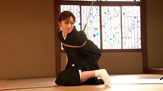 Horny Japanese slut Yuu Kawakami in Hottest fetish, bdsm JAV clip
