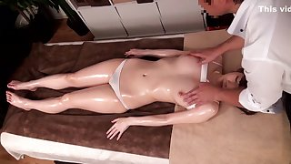 Best Japanese girl Amateur in Incredible natural tits, massage JAV movie