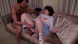 Crazy Japanese girl in Best JAV censored Swallow, Hairy movie