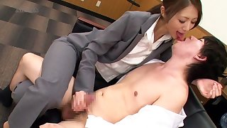 Riko Miyase in Temptation Office Salon part 1.2
