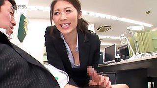 Riko Miyase in Temptation Office Salon part 1.1