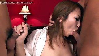 Amazing hardcore sex with big boobs woman Kanna Itou