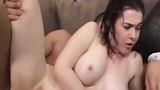 Red Hair Mae Victoria Gets Pussy Pounding