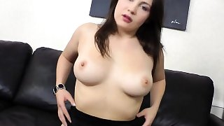 Bigtits babe anally fucked in her gaping ass