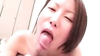 Amateur Asian Lady blowjobs