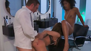 Misty Stone sucks like a first rate whore