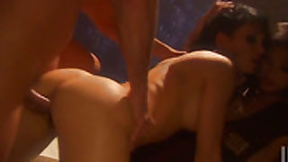 Victoria Sin gives suck job to hot guy