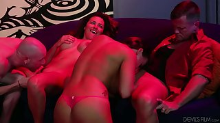 Danica Dillon and Nadia Styles enjoy the hottest orgy ever