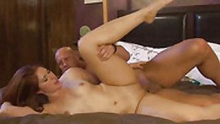 Redhead porn diva wants this blowjob session