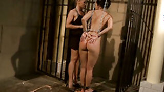 Blonde Kathia Nobili gets her lesbian love hole fingered